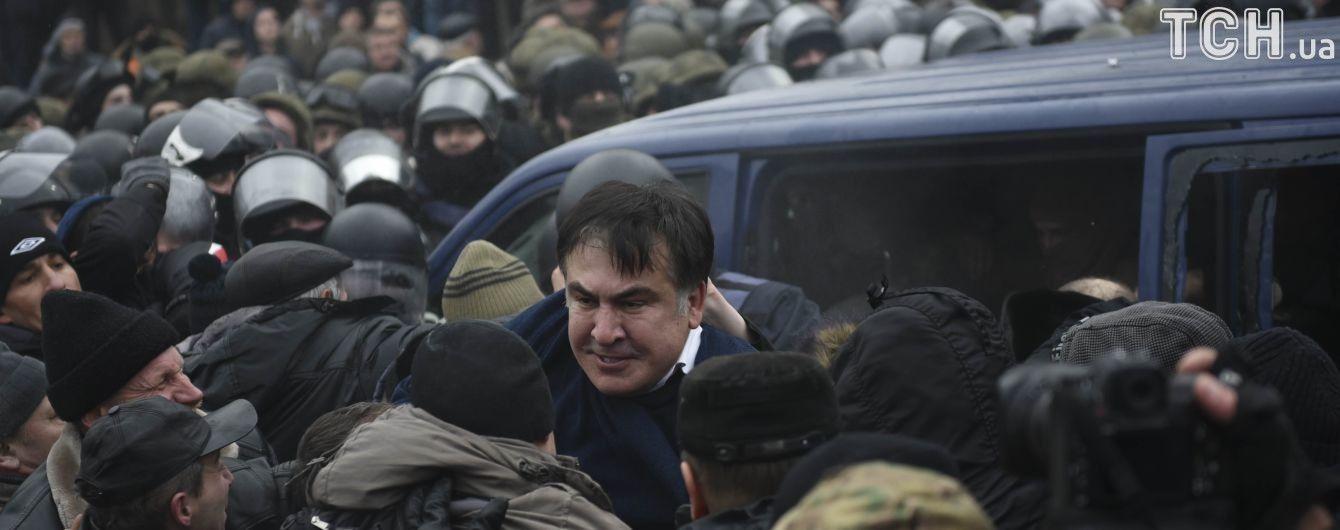 Саакашвили доставили в Печерский суд
