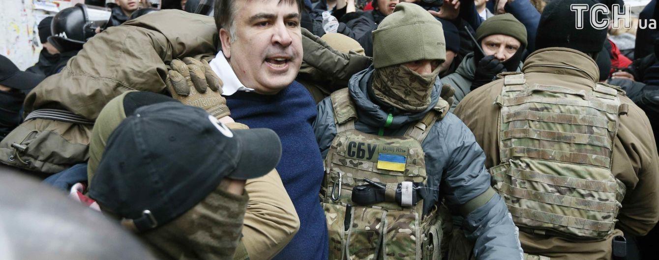 Адвокат расказал подробности задержания Саакашвили