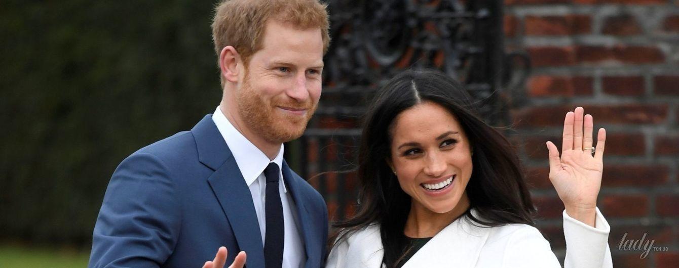 Кольцо с фамильным бриллиантом: Меган Маркл показала подарок принца Гарри в честь помолвки