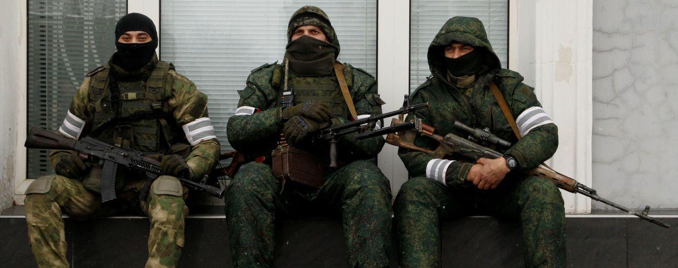 Диверсанты боевиков подорвались на собственных минах - штаб АТО