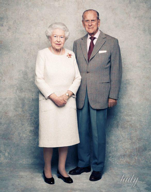 Королева Елизавета II и принц Филип _2
