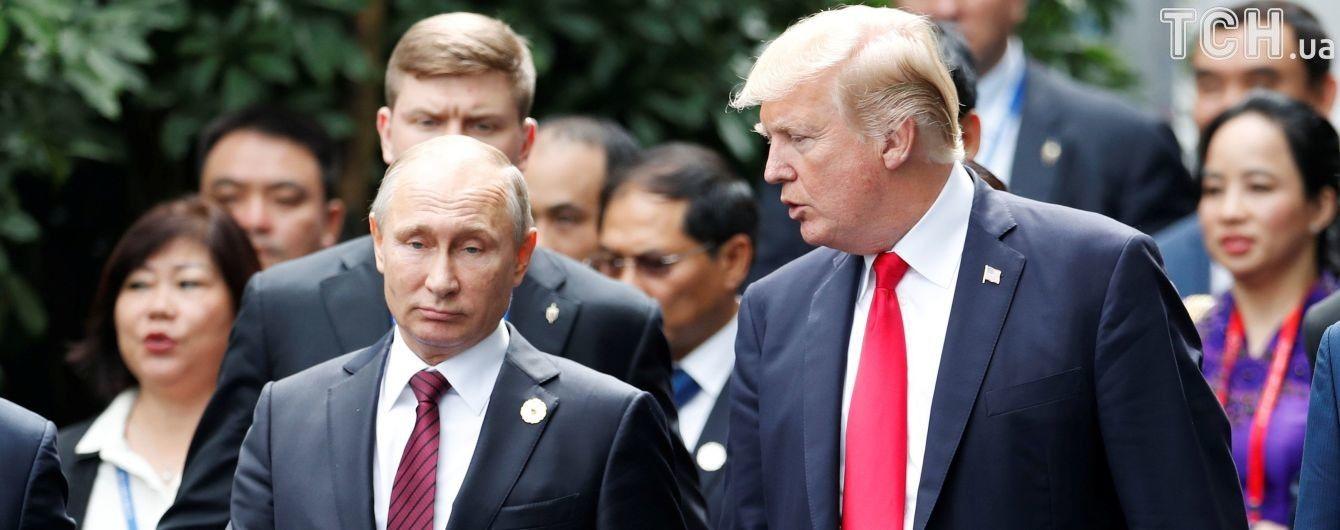 Трамп планує зустрітись з Путіним та обговорити серед іншого Україну