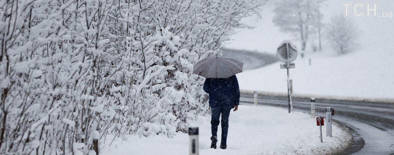 У середу в окремих регіонах ітиме сильний мокрий сніг. Прогноз погоди на 22  листопада 2174c4446d2cc