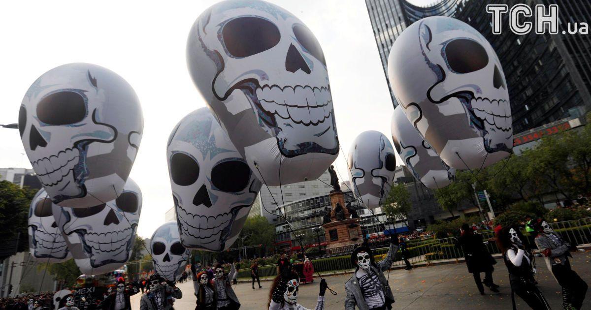 Парад зомбі у Мехіко @ Reuters