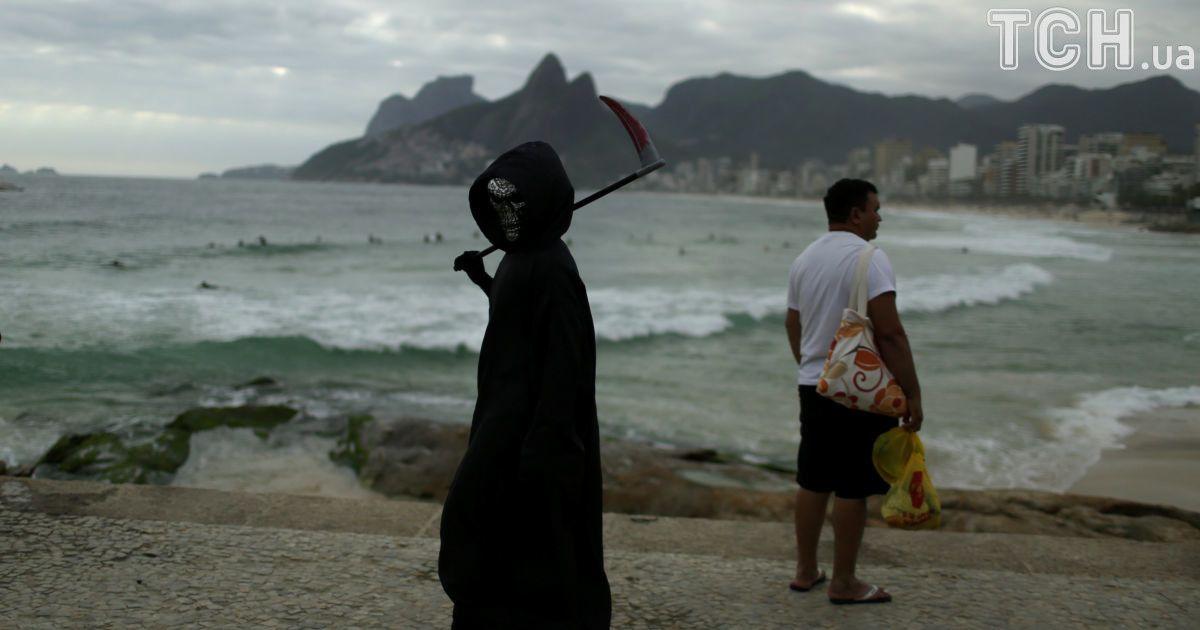 Хід зомбі в Ріо-де-Жанейро @ Reuters