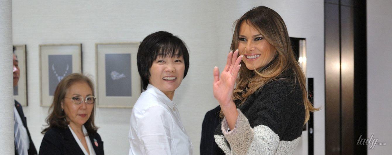 Мелания Трамп затмила своим стильным образом жену японского премьер-министра