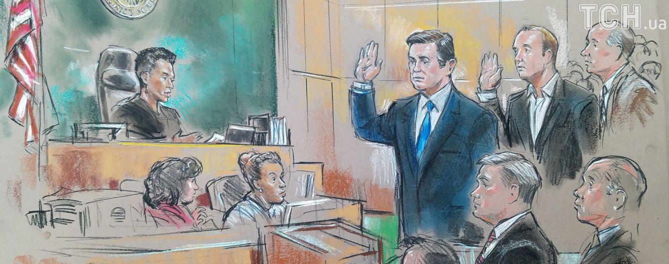 Суд США почав розгляд гучної справи Манафорта по суті