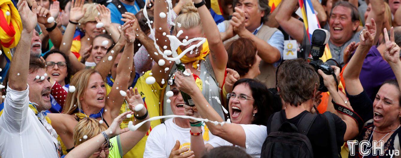 За чи проти каталонської незалежності. Реакція світу на рішення у Барселоні