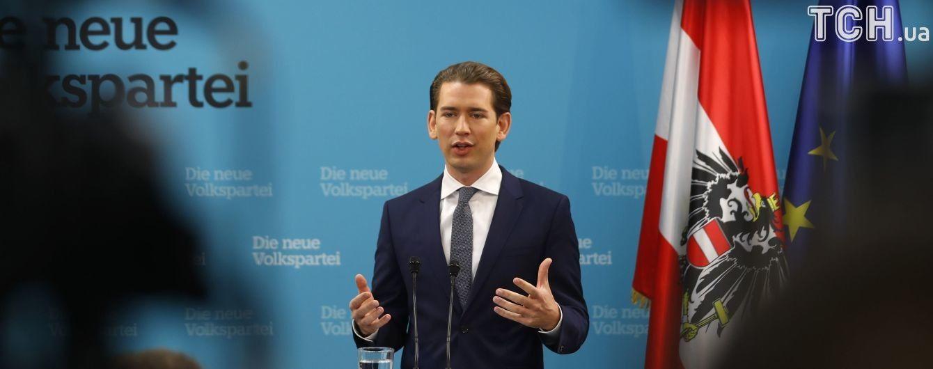 В Украину в начале сентября приедет канцлер Австрии