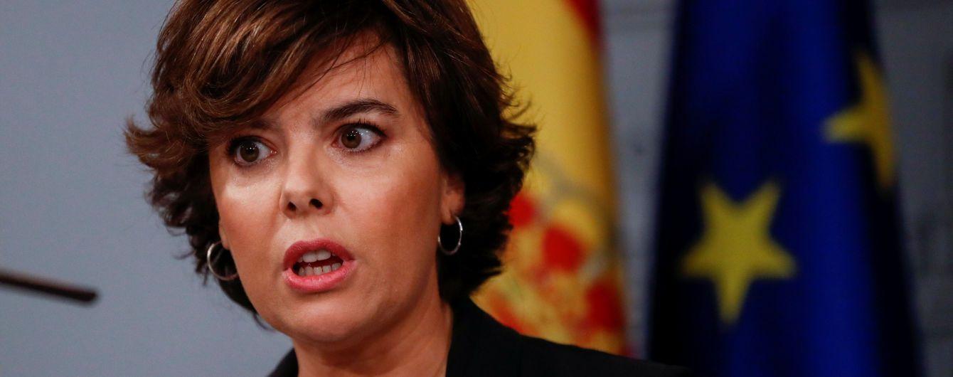 Мадрид офіційно позбавив повноважень уряд Каталонії і призначив очільницю регіону