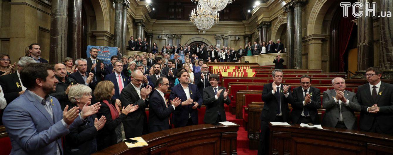 Регіональний парламент проголосував за незалежність Каталонії