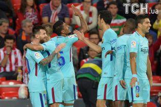 """""""Барселона"""" уверенно одержала победу над соперником """"Зари"""" в Лиге Европы"""