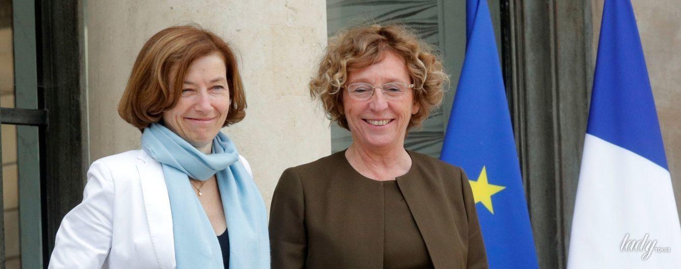 Министр вооруженных сил Франции в коротком платье затмила своих коллег