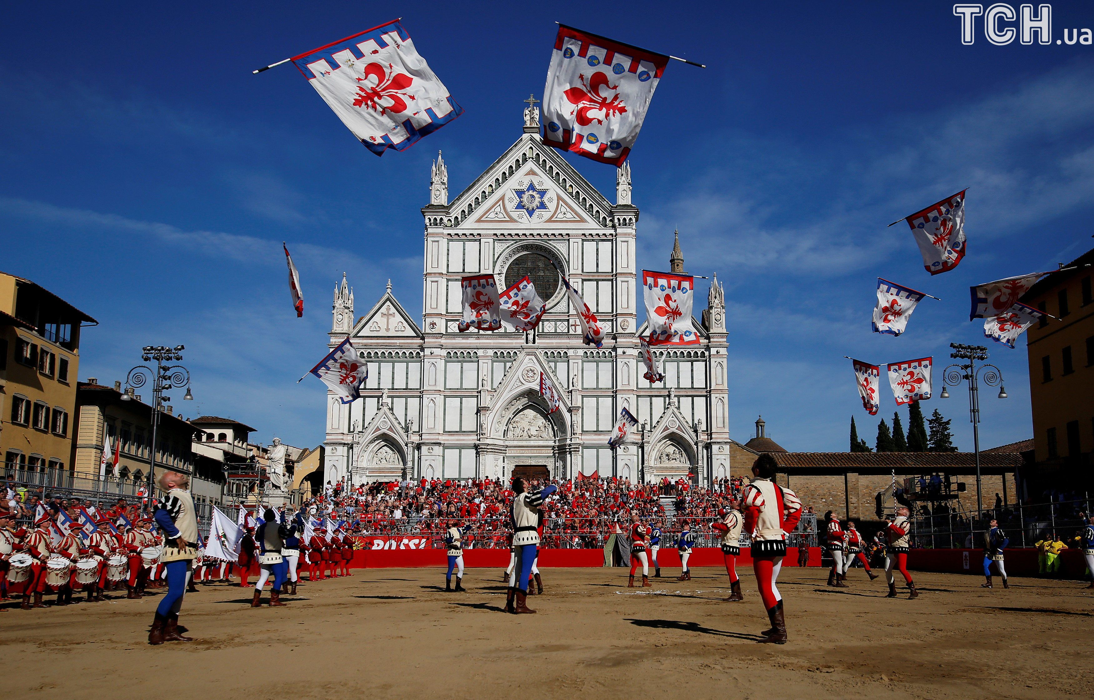 Базиліка Санта-Кроче у місті Флоренція.