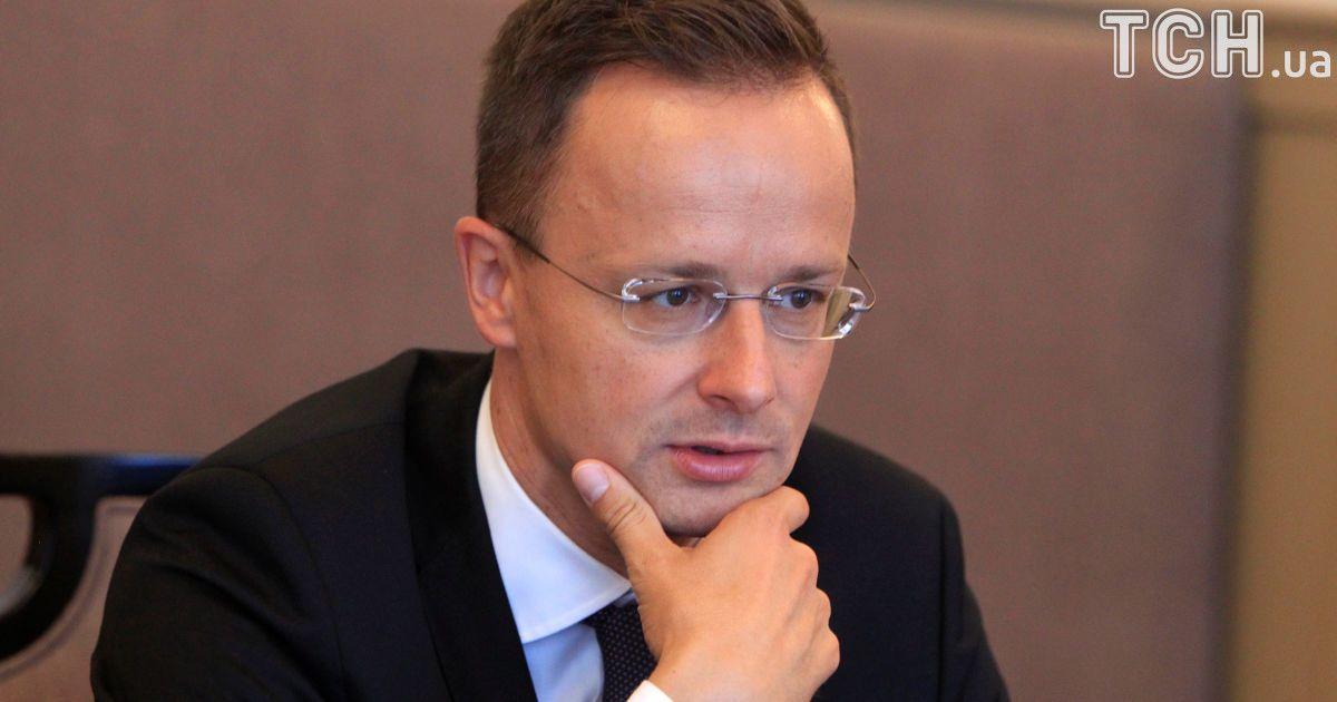Венгрия не поддержит Украину. Сийярто после беседы с Климкиним не изменил мнение о закона об образовании