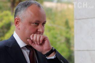 Додон проведе референдум для повернення Придністров'я до складу Молдови
