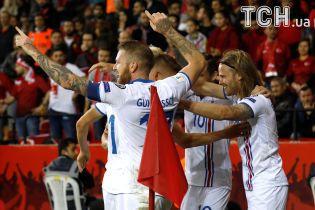 Исландия обыграла Косово и вышла на ЧМ-2018 с первого места