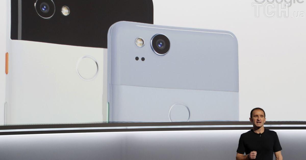 Google показала два новых смартфона - Pixel 2 и Pixel 2 XL.