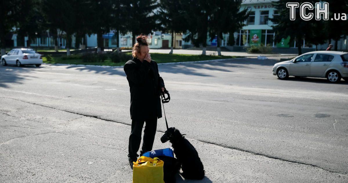 Полиция с Нацгвардией круглосуточно будут патрулировать Калиновку, чтобы избежать мародерства и нарушения безопасности