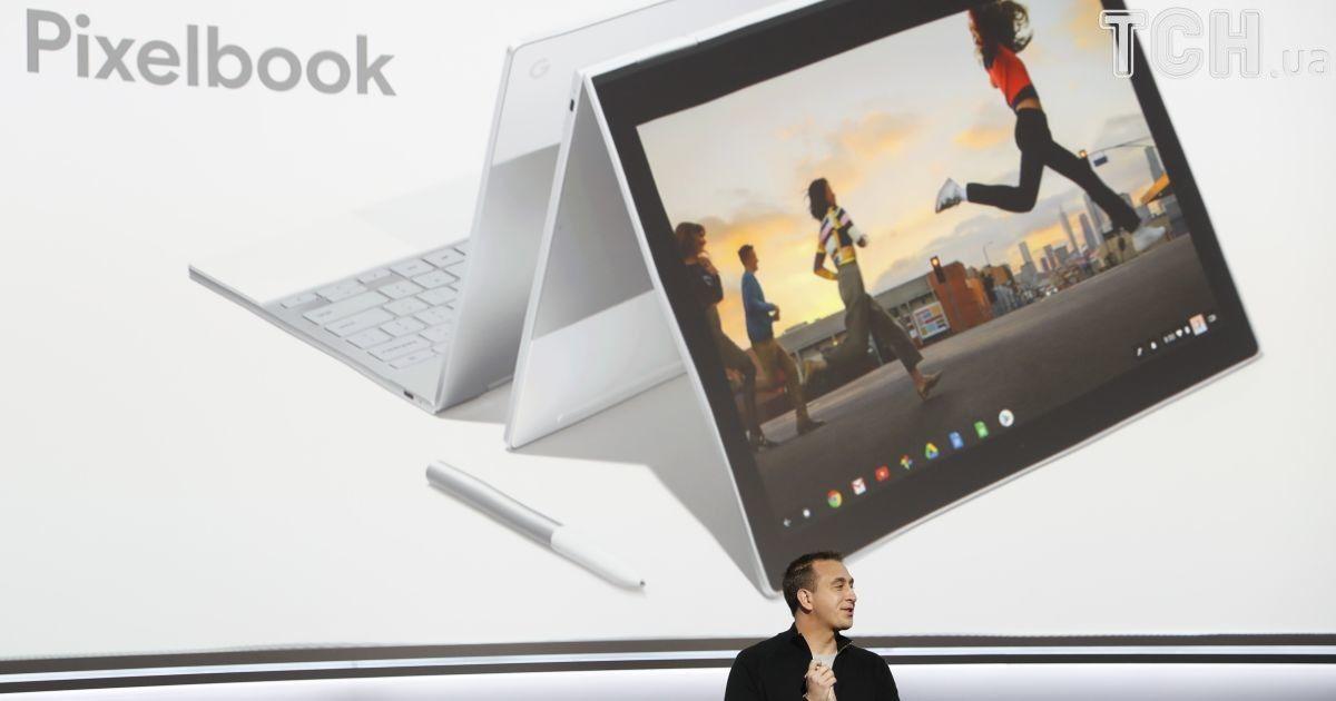 Ультралегкий ноутбук Google Pixelbook.