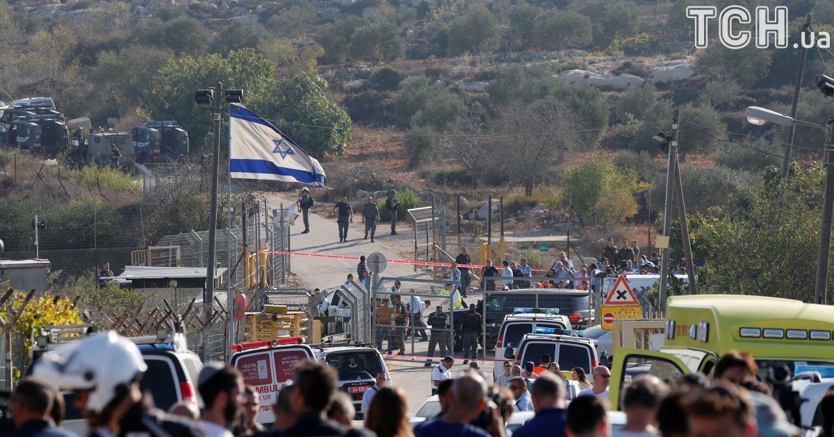 Палестинский боевик убил троих израильтян возле Иерусалима