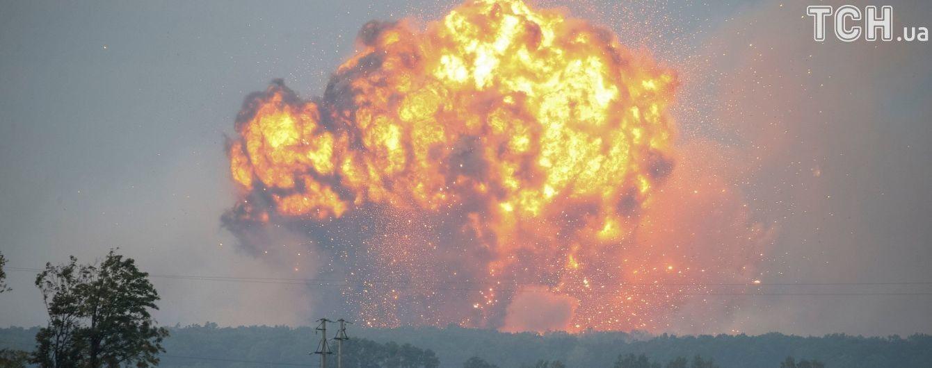 В Калиновке за несколько дней взорвалось больше боеприпасов, чем армия за три года использовала на войне