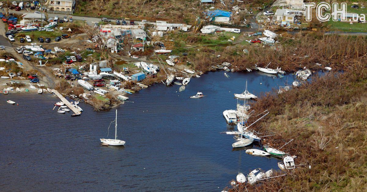 Часть города, остров Сент-Джон.