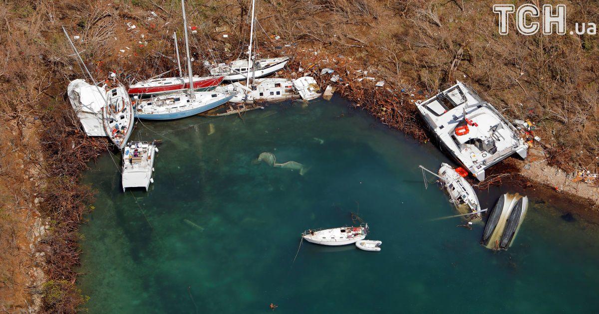 Изуродованные судна, остров Сент-Джон.