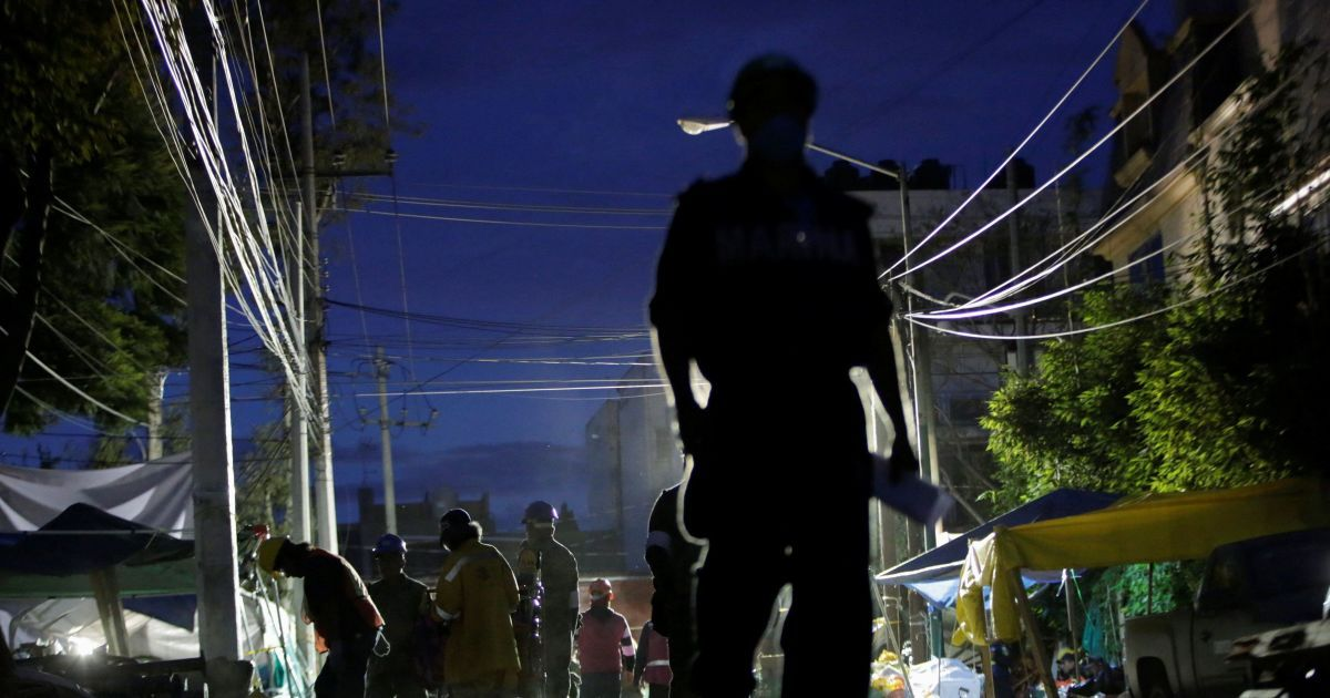 Возле Мексики произошло второе за последнюю неделю землетрясение