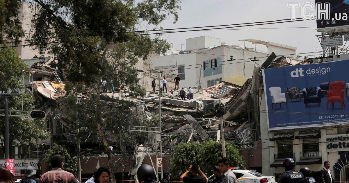 224 погибших, из них 20 - дети. В Мексике увеличивается количество жертв в результате землетрясения