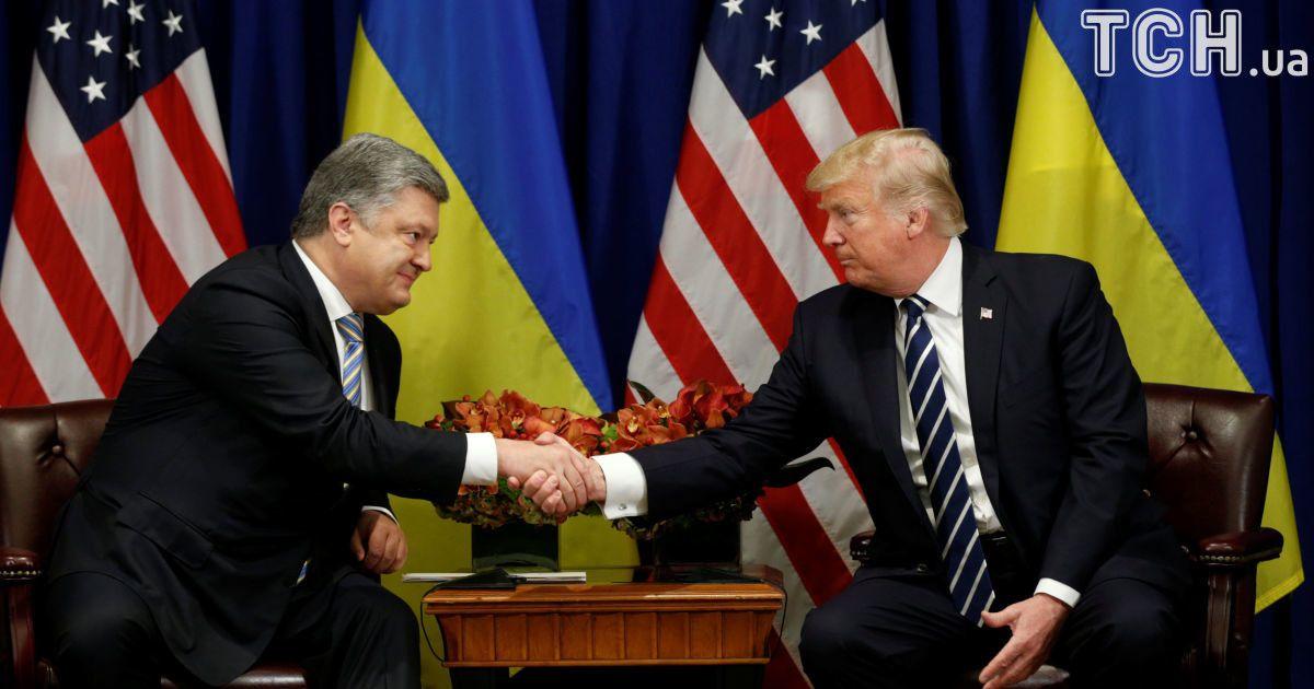 Петро Порошенко і Дональд Трамп @ Reuters