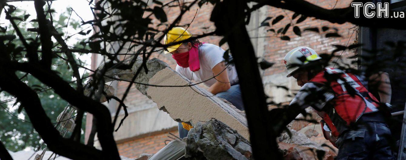 В Мексике произошло мощное землетрясение