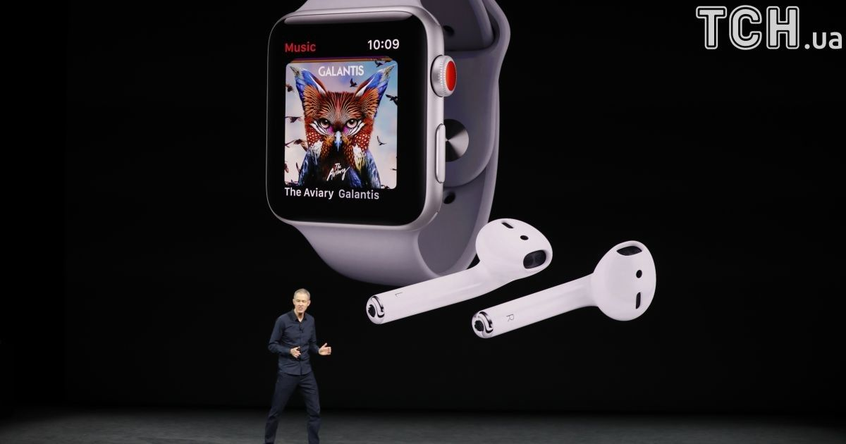 Презентация Apple Watch Series 3.