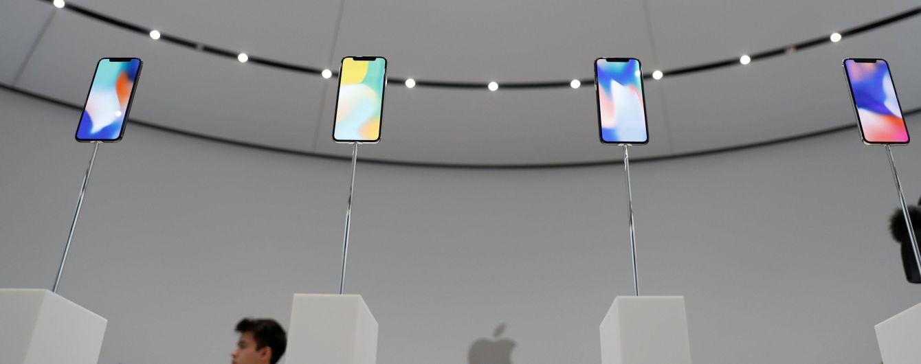 В Apple попередили про можливе вигорання дисплеїв iPhone X
