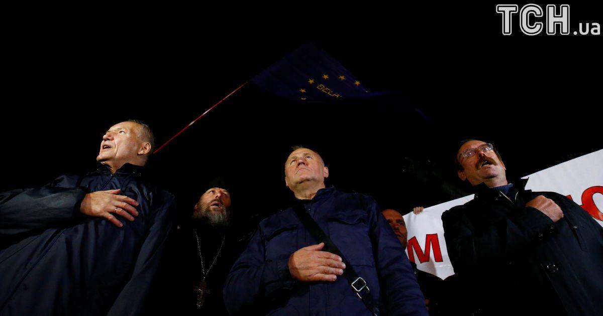 Белорусские оппозиционеры