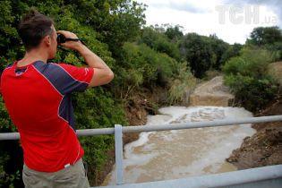 В Хорватии набирает размах наводнение
