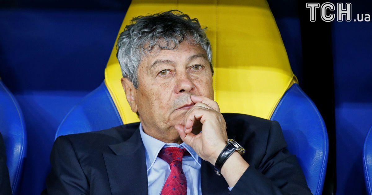 Луческу хочет перенести матч Украина - Турция из-за погодных условий