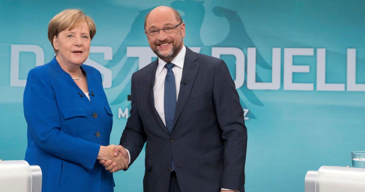 Меркель и Шульц начали переговоры о большой коалиции