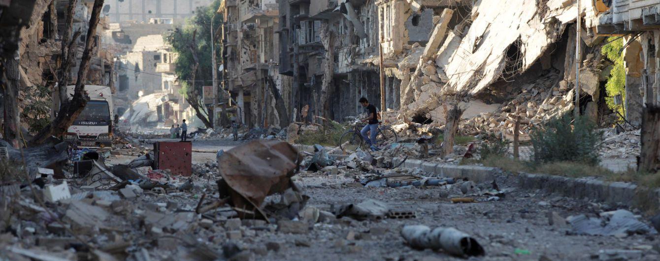 Міноборони Росії звинуватило США в авіаударі по Сирії забороненими боєприпасами
