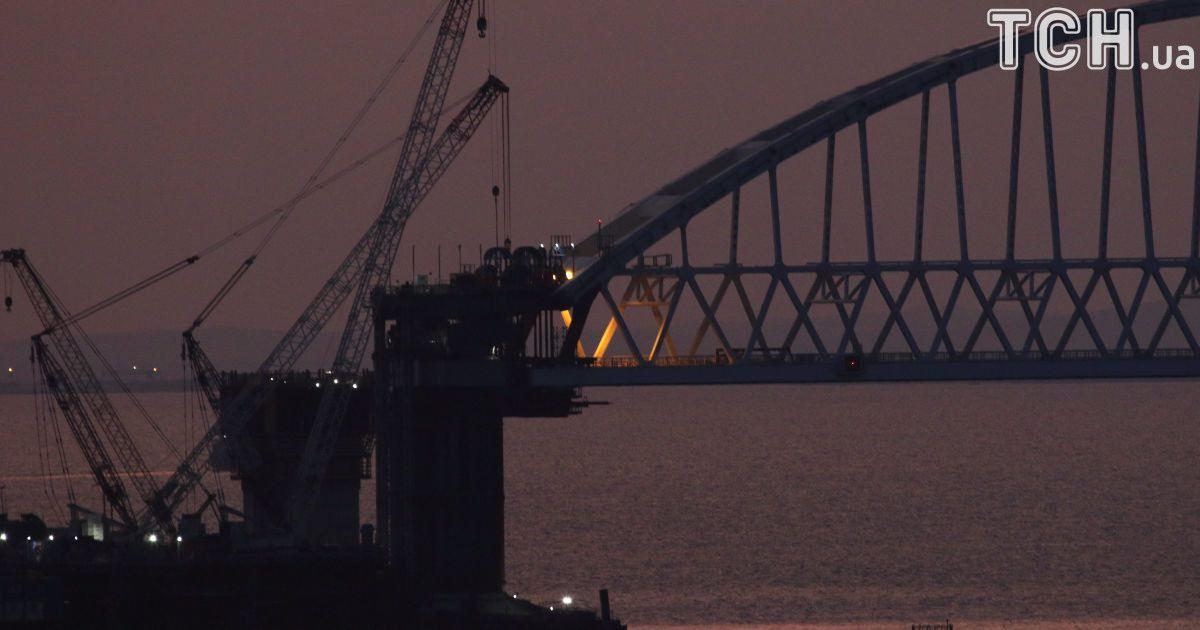 Арка над Керченским мостом