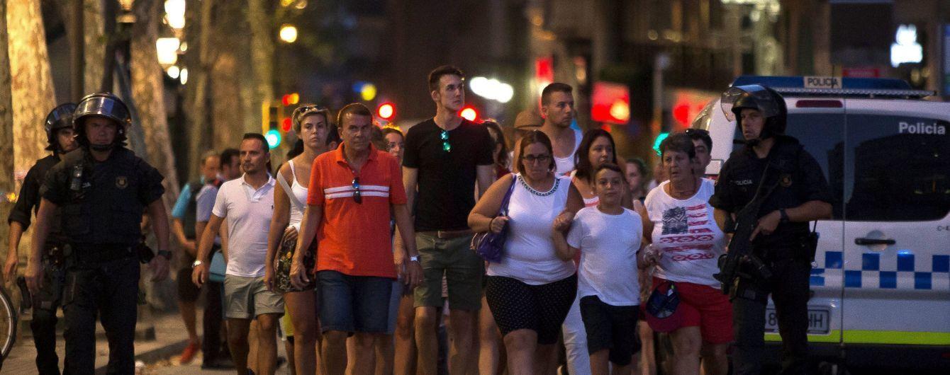 Унаслідок теракту в Барселоні постраждали громадяни мінімум 18 країн