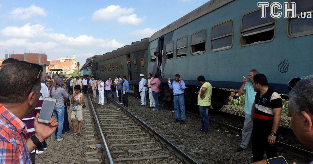 Влада Єгипту назвала попередню причину масштабної залізничної катастрофи