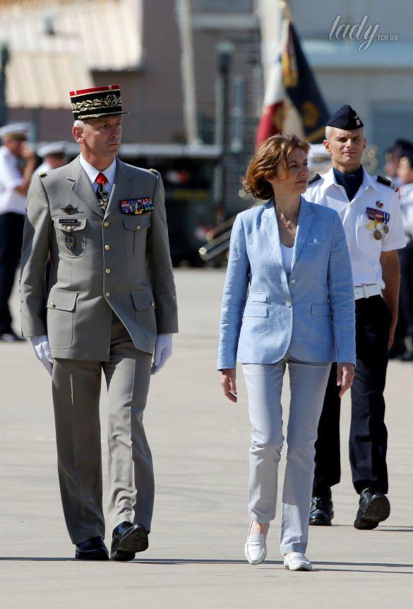 Министр Вооруженных сил Франции Флоранс Парли_7