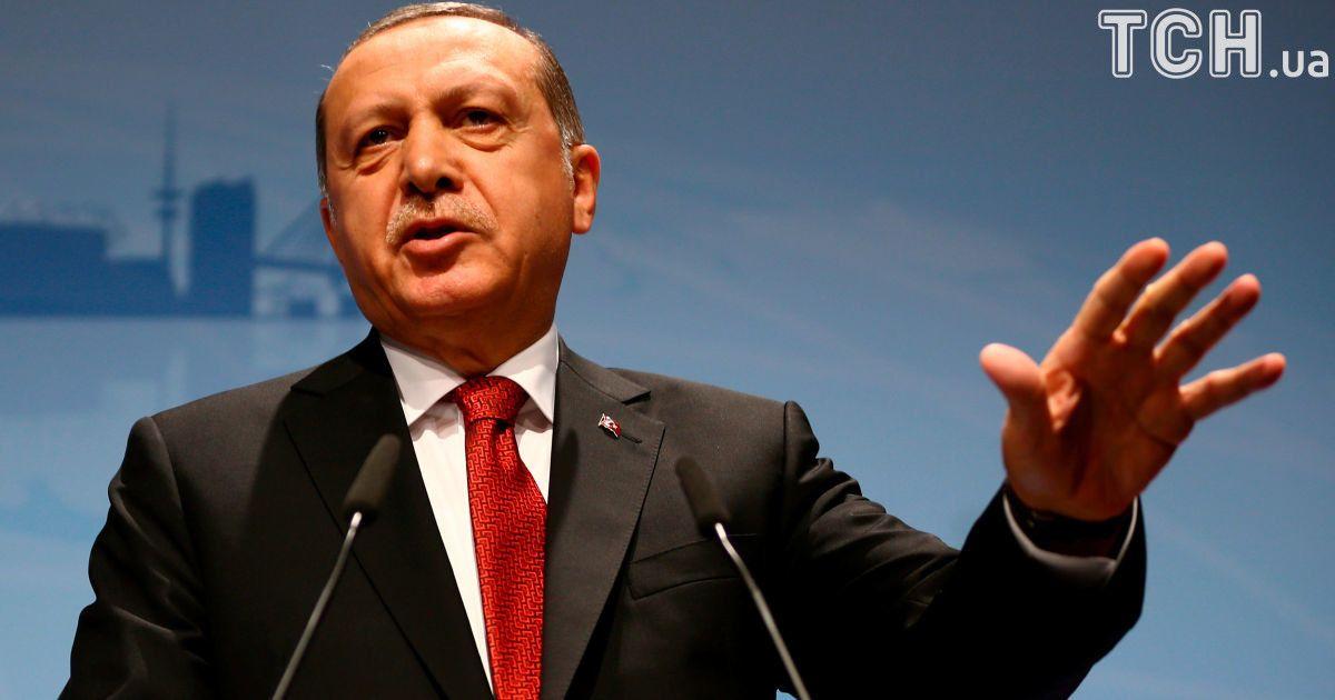 В Украину с официальным визитом едет Эрдоган