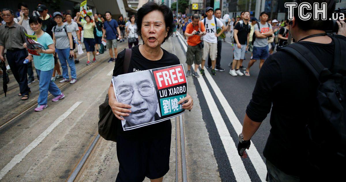 У Китаї госпіталізували відомого правозахисника та лауреата Нобелівської премії миру Лю Сяобо
