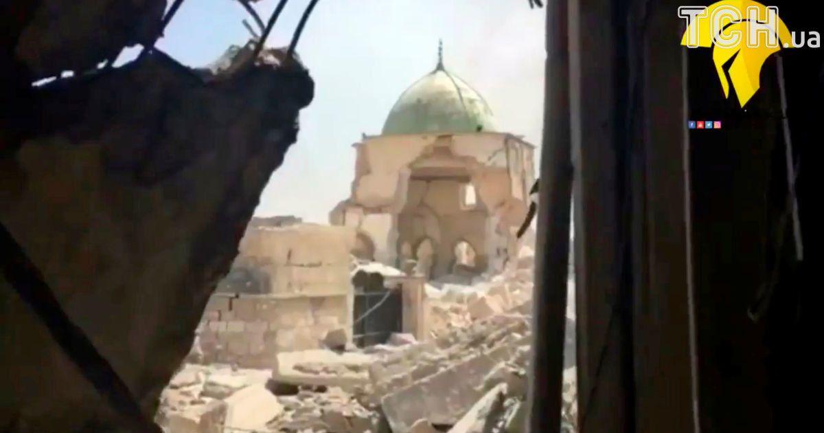 Разрушенная мечеть @ Reuters