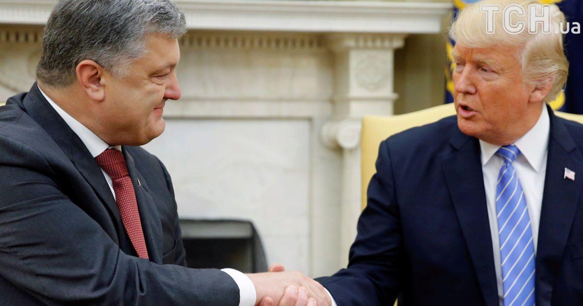 АП і Білий дім підтвердили зустріч Порошенка і Трампа на наступному тижні