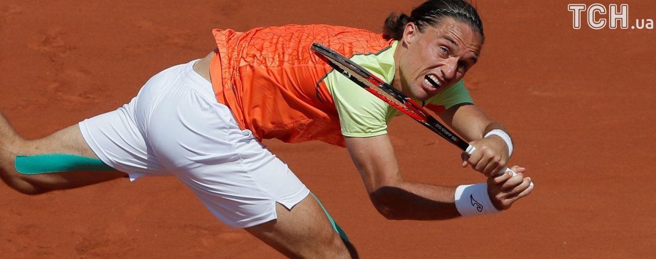 Українець Долгополов вийшов до 1/4 фіналу престижного тенісного турніру