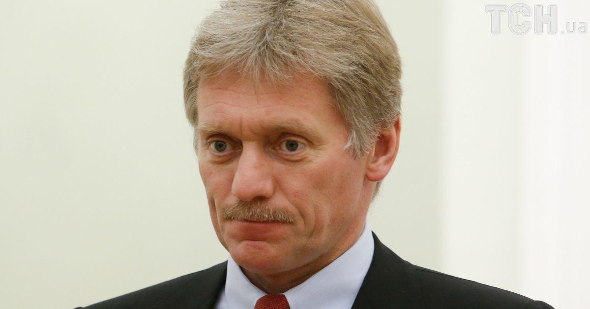 У Кремлі прокоментували проект Порошенка про миротворців на Донбасі