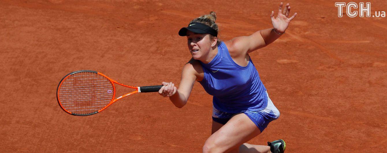 Українка Світоліна піднялася на 5 місце в рейтингу WTA